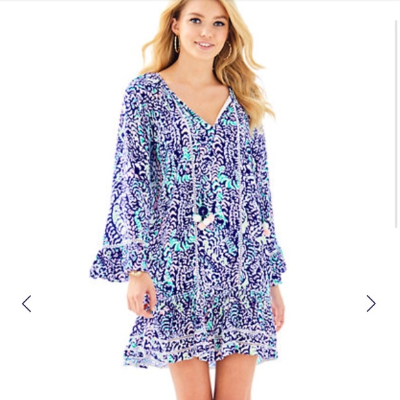 e851cfa59b8 Lilly Pulitzer Dresses | Nwt Percilla Tunic Dress | Poshmark